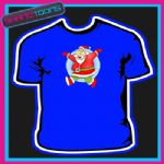 SANTA CLAUS FATHER CHRISTMAS TSHIRT CHILDRENS MENS & LADIES SIZES - 150901332200